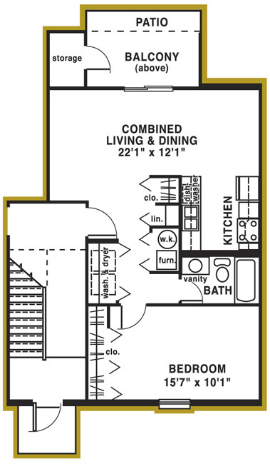 Willow Glen South - 01  floor plan